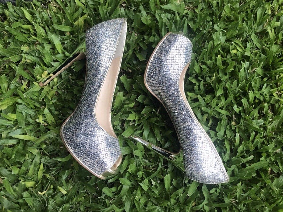 dea8f673 Zapatos Guess Importados De Fiesta Dorado/plateado Z.norte - $ 2.998 ...