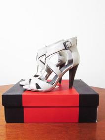 Marfil Guess Tacon Mujer Blanco Zapatos Americanos Color 5AL4Rj