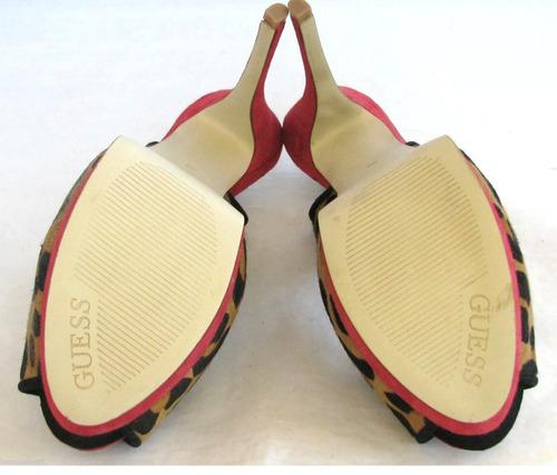 04739f82 Zapatos Guess Plataforma Importados #8 Usa #5 Mex Leopardo ...