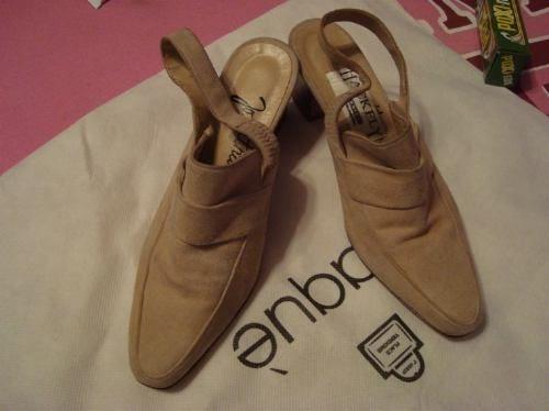 zapatos hackley nº35 100% gamuza envio gratis y cuotas!!