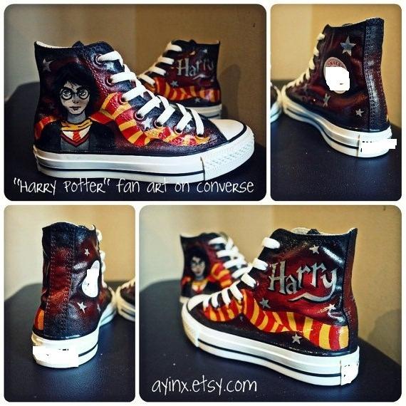 converse harry potter zapatos