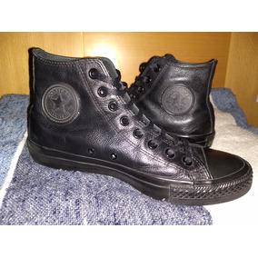 6e0f56115 Converse Botin Negro De Cuero - Zapatos en Mercado Libre Venezuela