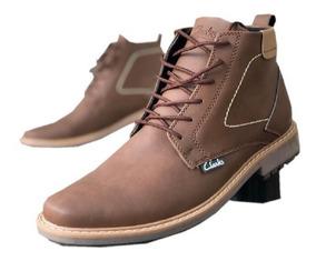 Zapatos Hombre + Bolso +billetera, Botas Clarks, Combo Bota