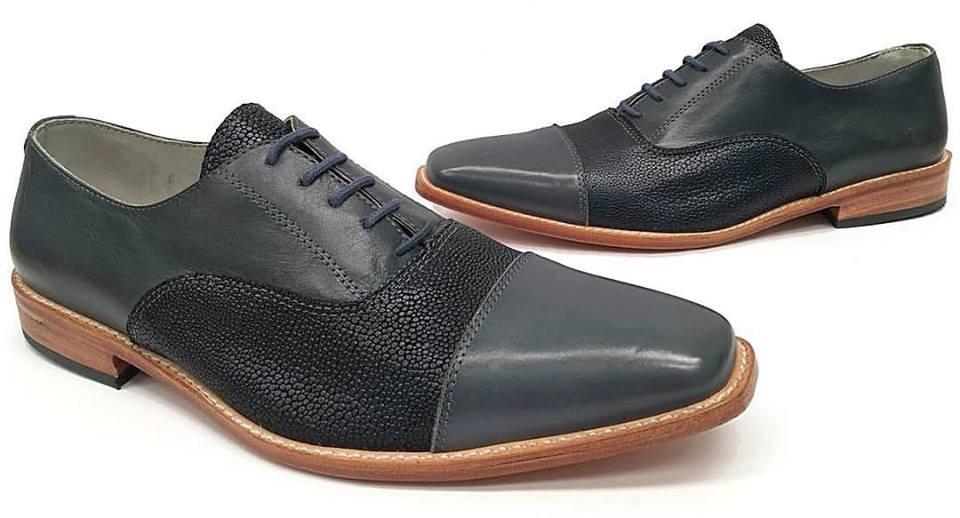 Zapatos Hombre De Diseño Elegantes Vestir Modernos En Punta ... 19661b8c02f3