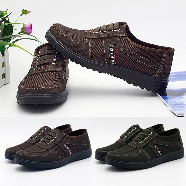 Zapatos Algod¿n Casuales Tela Hombre Mediana De sChxtrQd