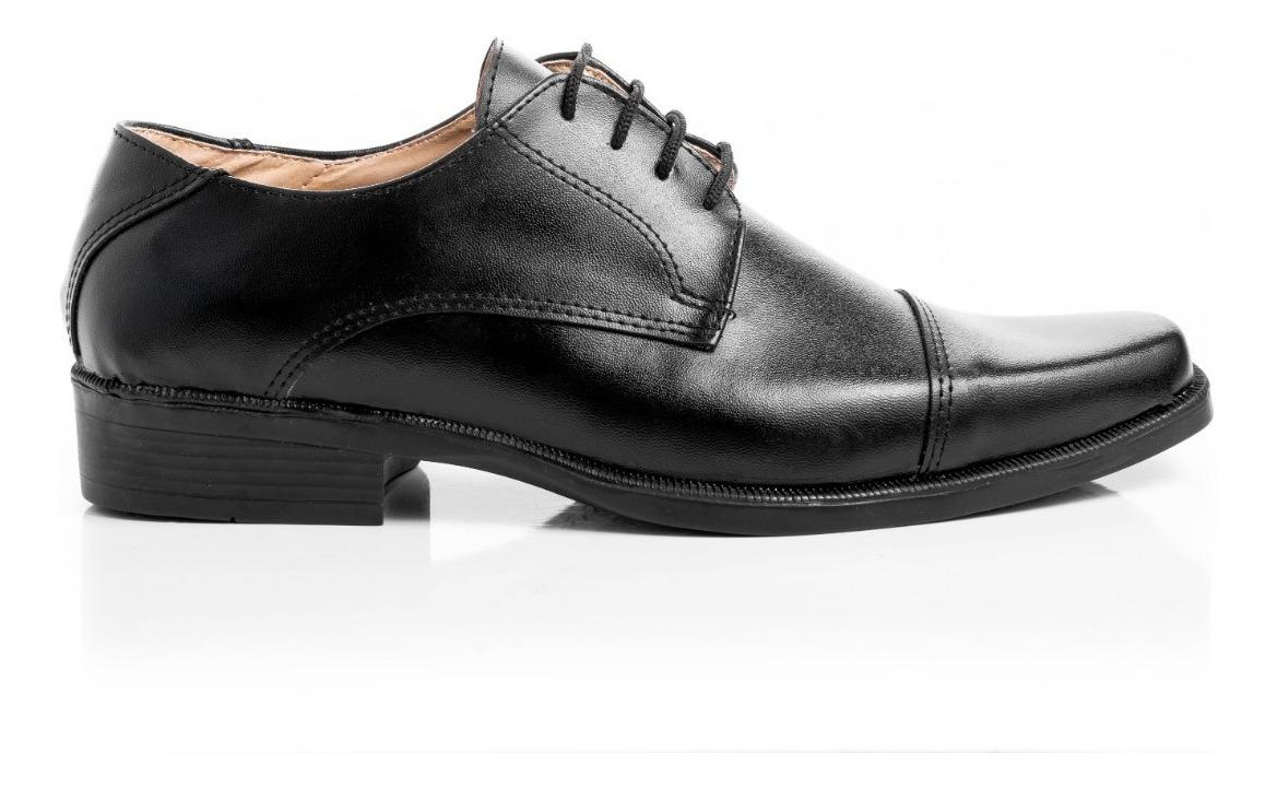 la mejor actitud 57c67 fccc1 Zapatos Hombre De Vestir Cordones Cuero Pu Calidad Premium