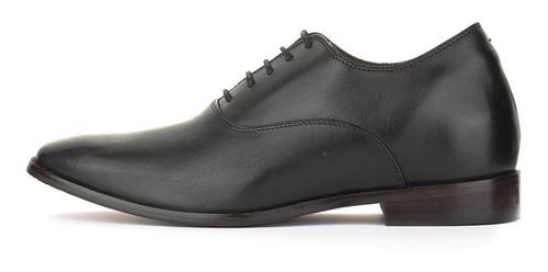 zapatos hombre elegant negro max denegri +7cms
