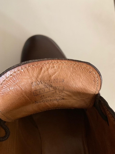 zapatos hombre massimo dutti de cuero