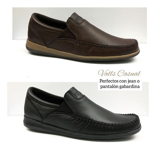 zapatos hombre mocasin de cuero, combinan con todo! oferta**