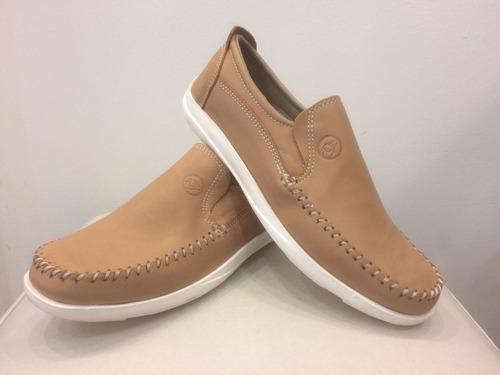 zapatos hombre mocasines náuticos sport base de goma