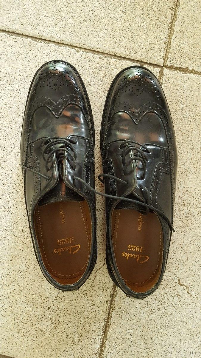 5ab28382 Zapatos Hombre Negros Clarks T 41 - $ 2.000,00 en Mercado Libre