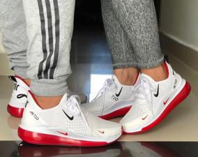 HombreMujer Nike Air Max 1 Zapatillas Khaki Rojos Baratas