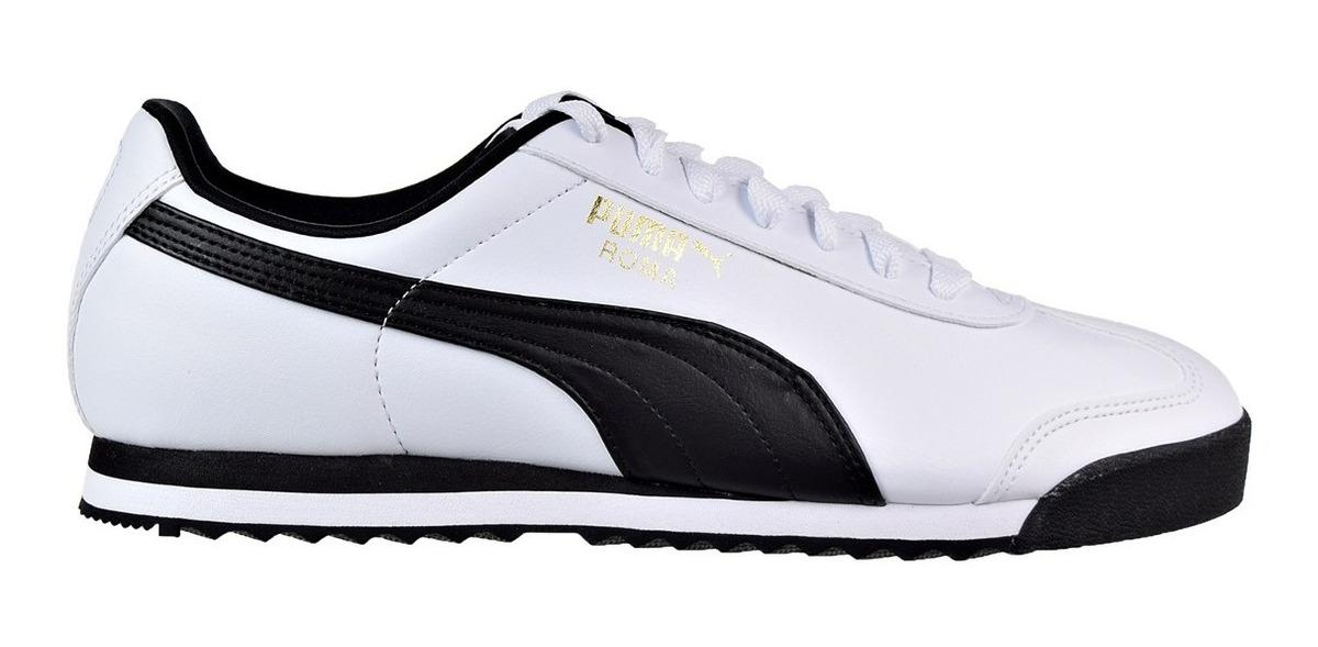 zapatos blancos hombre puma