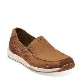 44 Marca Mocasin Caballeros Zapatos Talla Clarks 5 Tipo 4jA35LR
