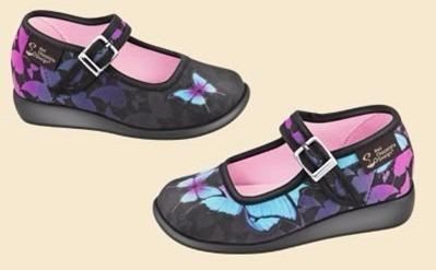 zapatos hot chocolate design mini dark butterfly talla 30