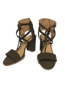 3dc5ec69 Zapatos Tacon Verde Militar - Zapatos Bordó en Mercado Libre México