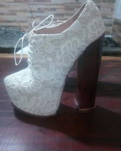 zapatos importados plataforma