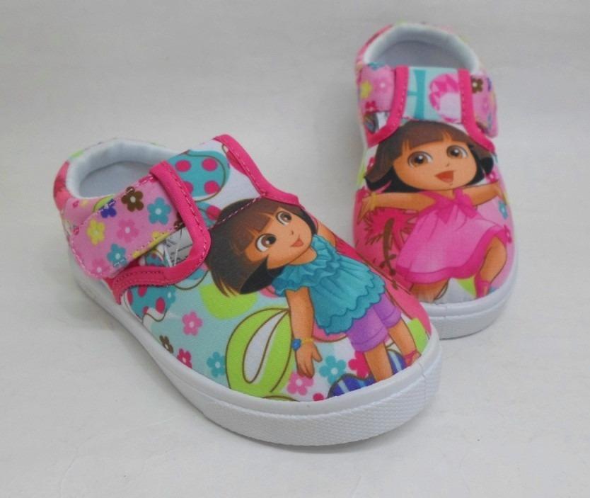 Zapatos Infantiles Zapatos Infantiles Dora De Niña QodtsrhCxB