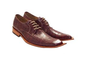 31ef1d6b Zapatos Hombre Cuero Punta Italiana - Ropa y Accesorios en Mercado ...