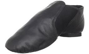 estética de lujo última colección belleza Zapatos Jazz Dance Class Niña Tono Negro Piel Envio Gratis