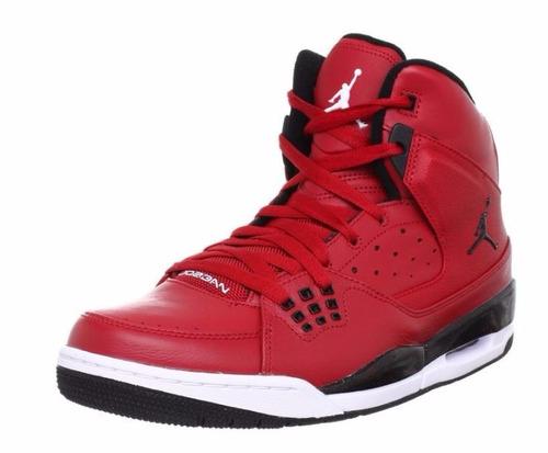 jordan zapatos rojos