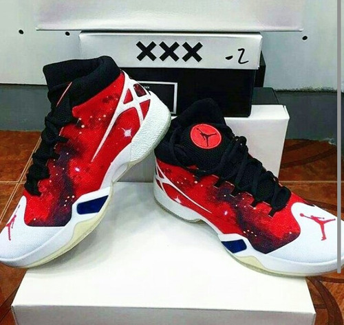zapatos jordan xxx de caballeros