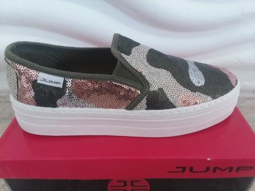 zapatos jump estilo vans para dama