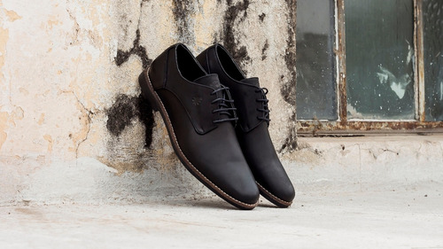 zapatos justicialistas 100% cuero mod. descamisados (perón)