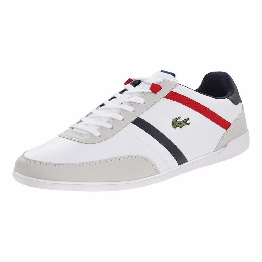 7ba6549491f57 Zapatos Lacoste Giron Tcl Wht wht Hombre -   449.000 en Mercado Libre