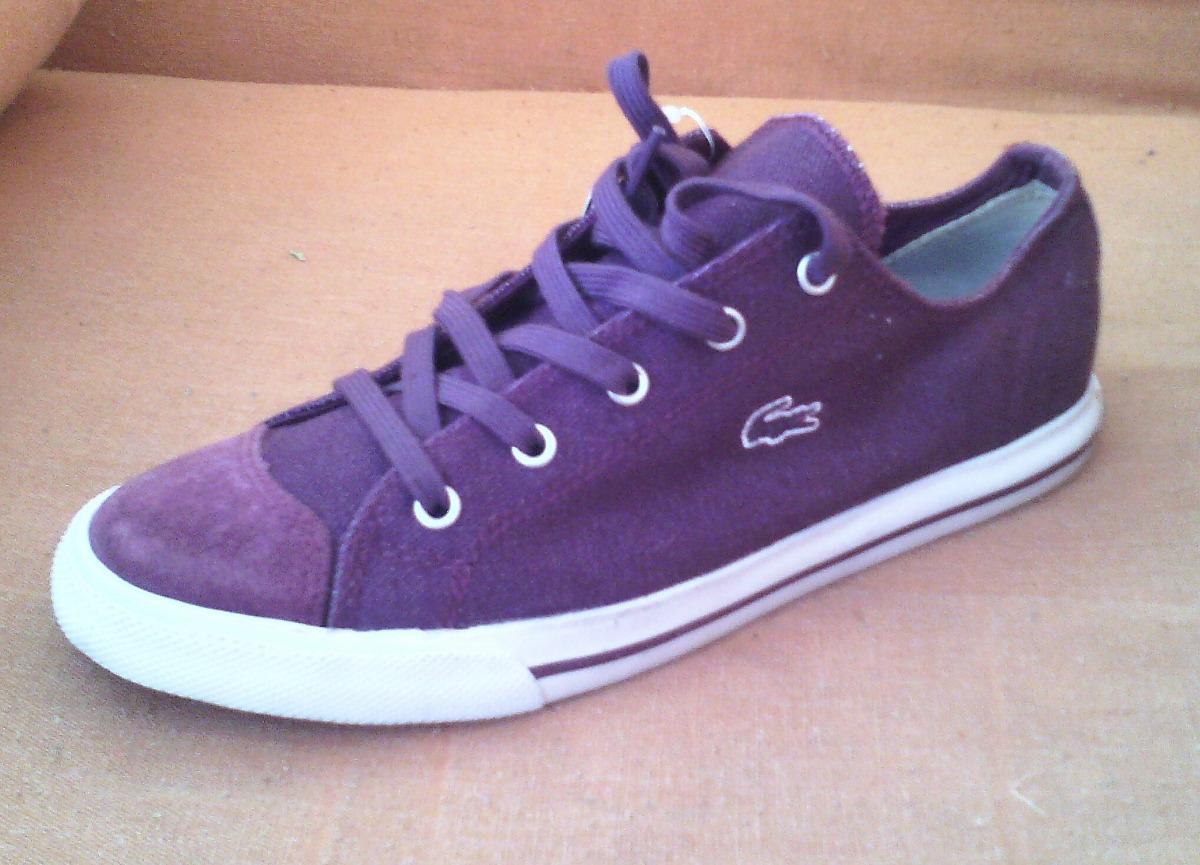 368a3a49109c0 Zapatos Lacoste Originales Talla 40 - Bs. 45,00 en Mercado Libre