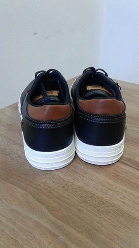 zapatos levis negros para hombre originales talla 42