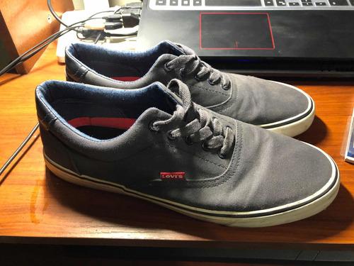 zapatos levis poco uso talla 11