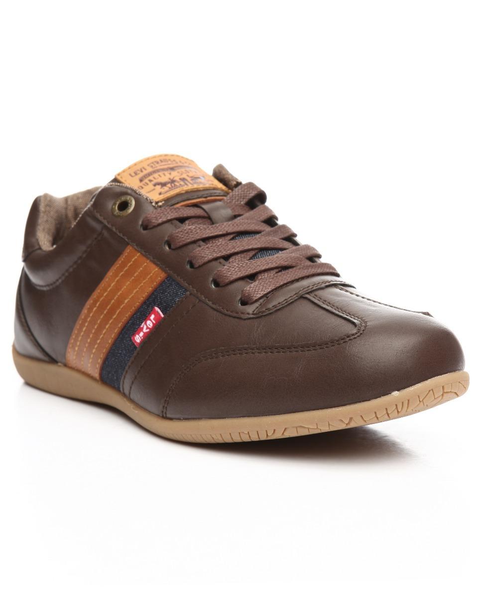 4433b9c8 zapatos levis solano,casuales,cafe,comodos,hombre,lacoste. Cargando zoom.