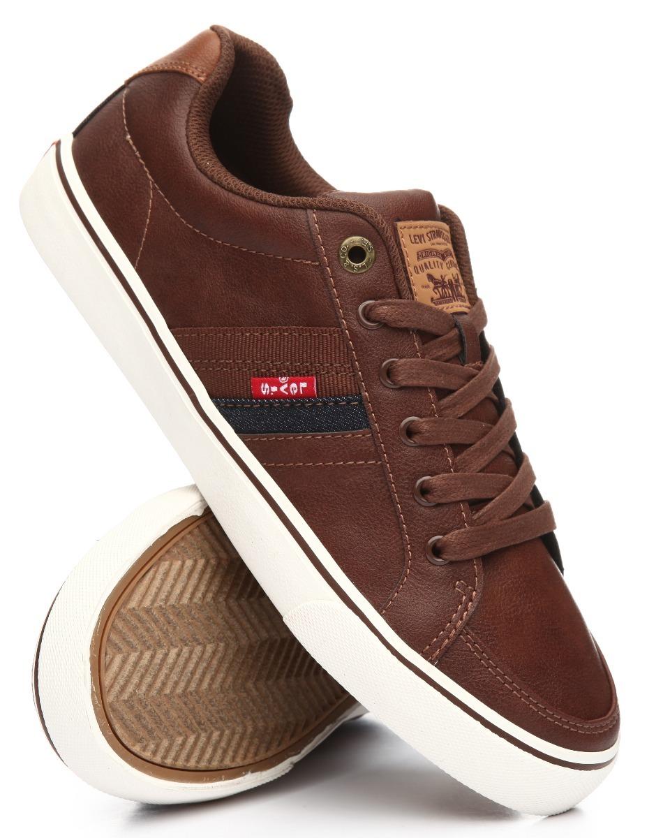 790dcc6d Zapatos Levis Turner,cafe,sneakers,tenis,hombre,lacoste - $ 1,190.00 ...