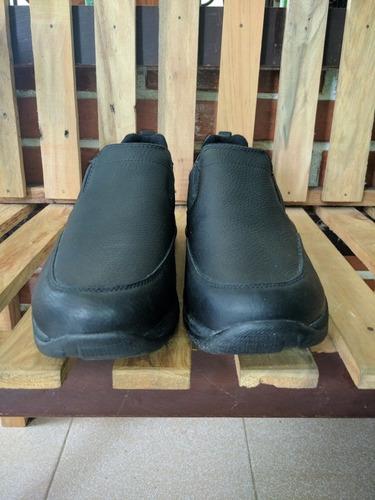 zapatos l.l bean comfort mocasines sin cordones de cuero neg