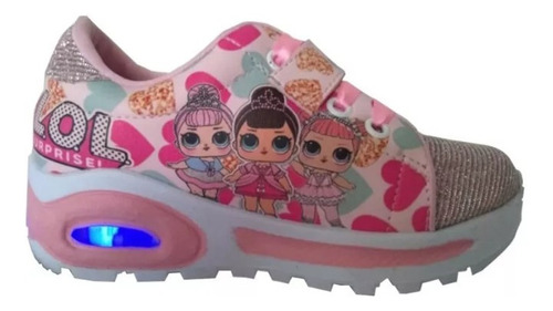 zapatos lol surprise con luces