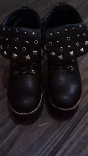 zapatos loli van harden tipo borcego