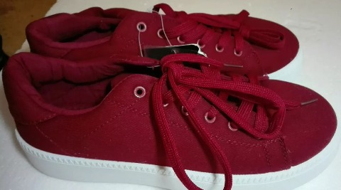 bc81ddb9f 40 Bs Alta Zapatos Rihanna Lona Tipo Suela Vans Plataforma T 6PY8zYqfwx