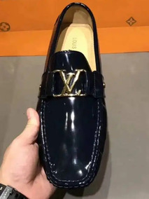be3f6cc2 Zapatos Louis Vuitton Blac Charol38-44a Pedido Venta Online