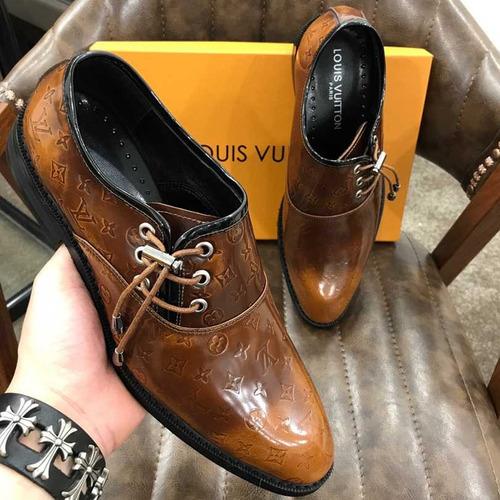 zapatos louis vuitton casual top (bajo pedido)