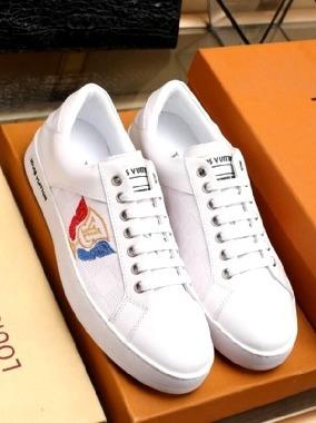 zapatos louis vuitton cuero blanco negro