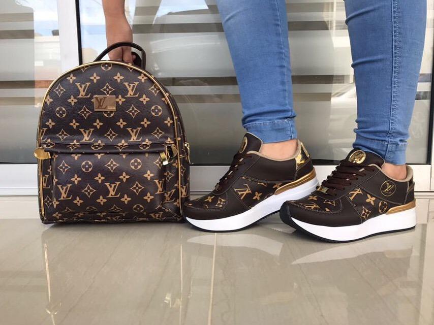 57b22290 Zapatos Louis Vuitton Damas Moda - Bs. 29,50 en Mercado Libre