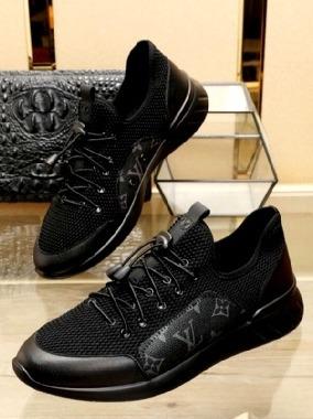 zapatos louis vuitton negros