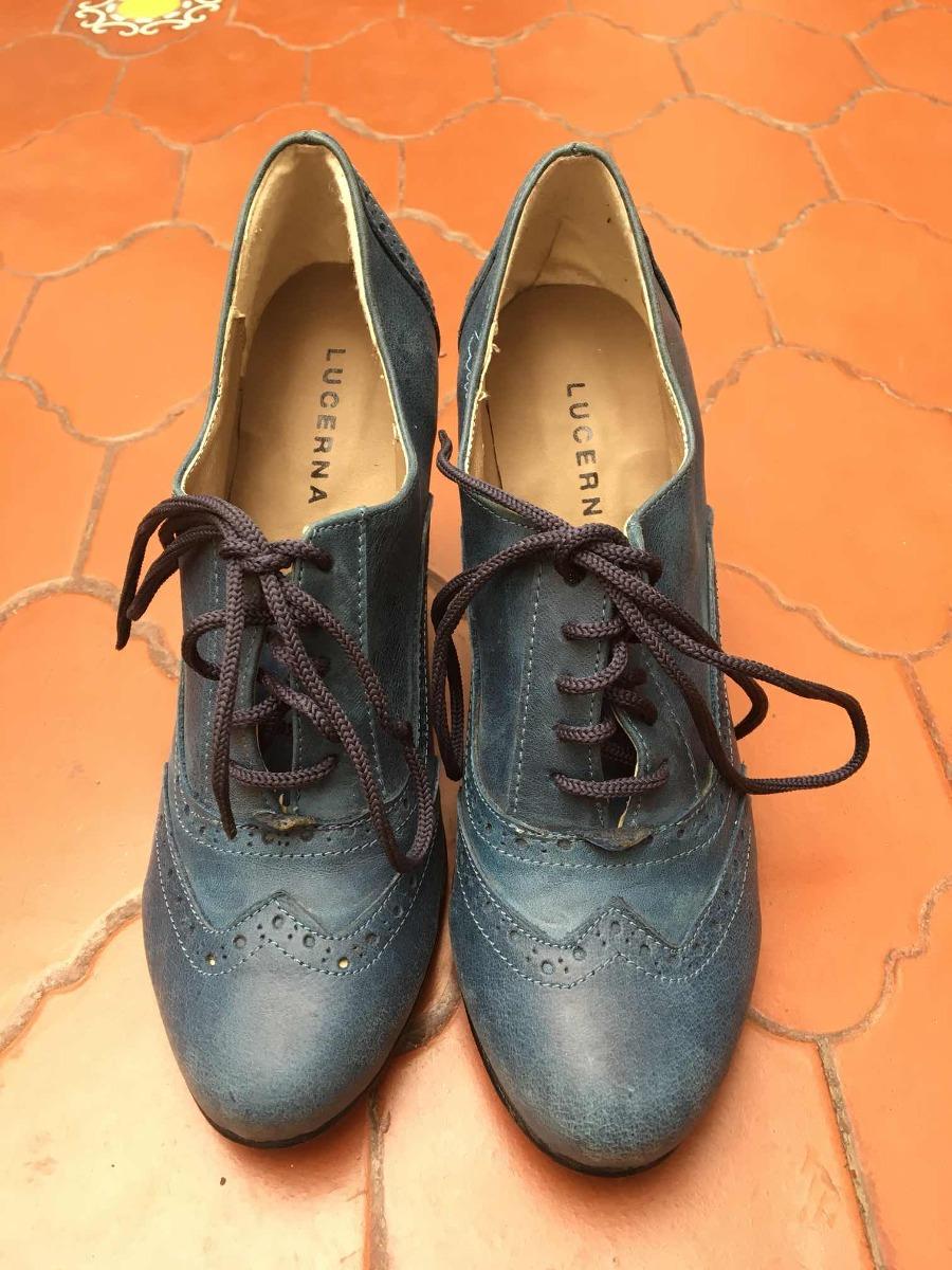 6e6cccf1 Zapatos Lucerna Estilo Vintage - $ 550,00 en Mercado Libre
