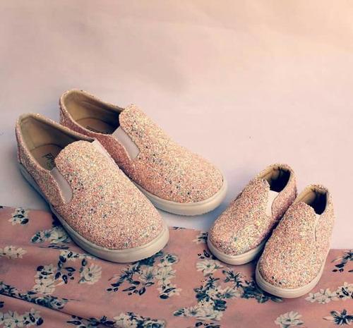 zapatos mamá e hija