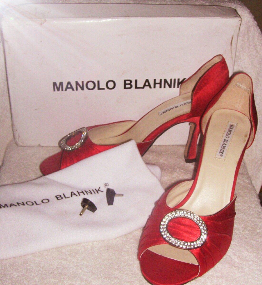 af283ef0 Zapatos Manolo Blahnik Nuevos!! - $ 6.500,00 en Mercado Libre