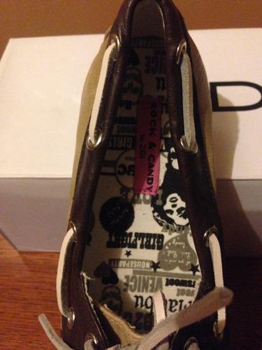 zapatos marca rock &candy by zigi (no aldo, nine west)