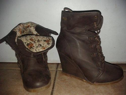 zapatos maria more cafe 38 precio original 30.000