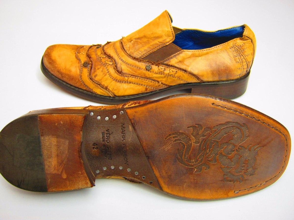 557f347a9cb zapatos mark nason rock never dies hecho a mano en italia. Cargando zoom.