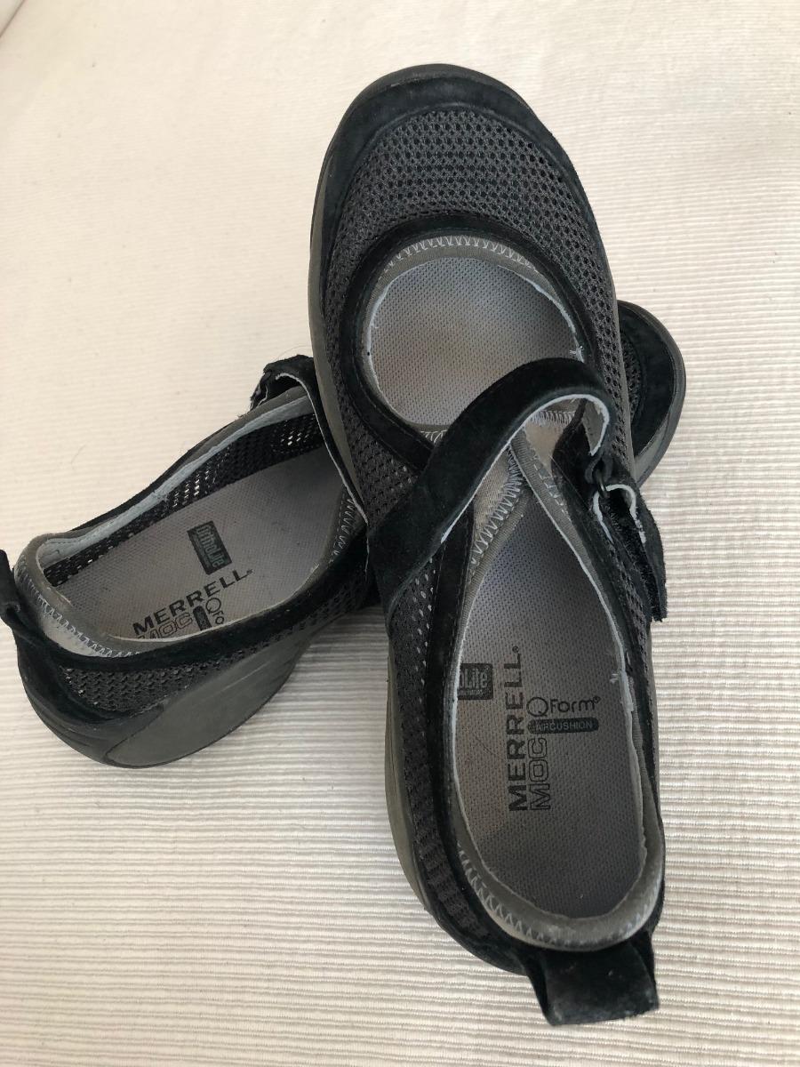 3d37b32e3 Zapatos Merrell Encore Strap Moc Qform Air Cushion Us 7